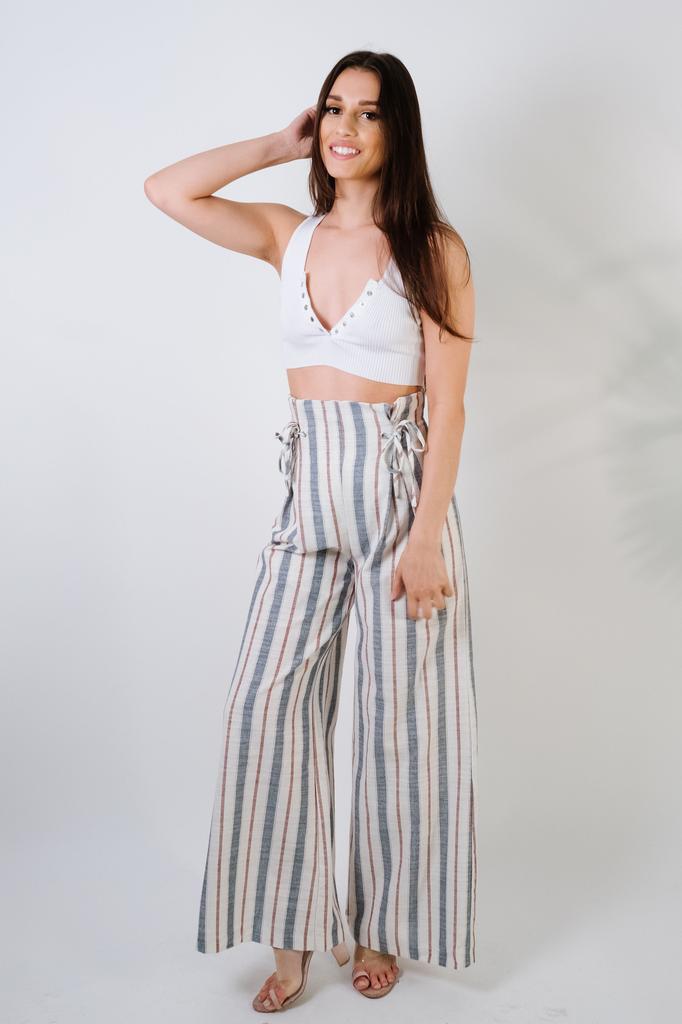 Pants Natical Linen Pants