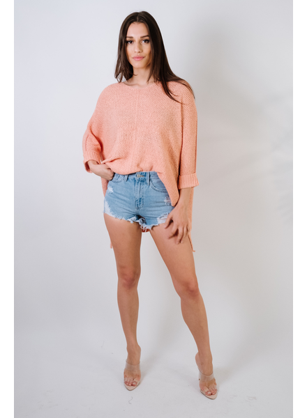 Sweater Coral Spring Knit