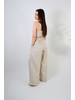 Crop Linen Adjustable Crop