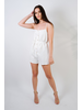 Casual White Linen Jumper