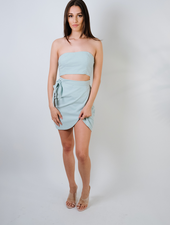 Mini Seaglass Cutout Dress
