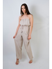 Dressy Stone Strapless Jumpsuit