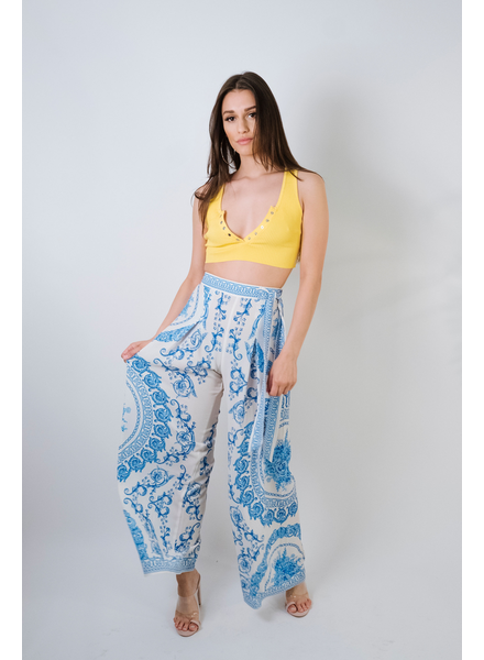 Pants Blue Baroque Pants
