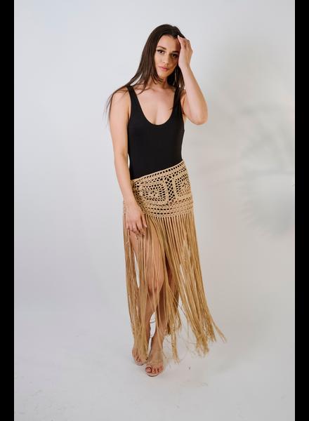 Skirt Crochet Fringe Skirt