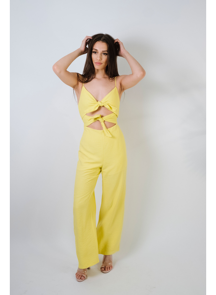 Jumpsuit Double Tie Jumpsuit
