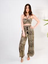Pants Leopard Wide Leg Pant