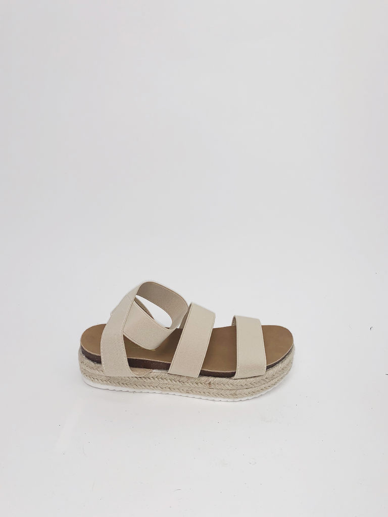 Sandal Jute Wrapped Platform Sandal