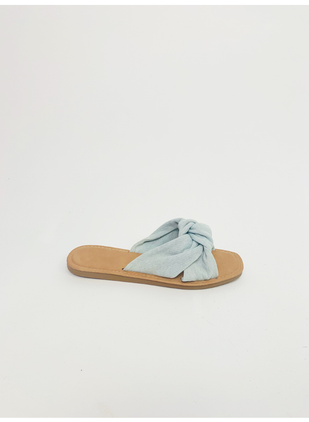 Sandal Denim Knot Sandal