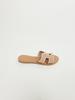 Sandal Blush Perforated Slide