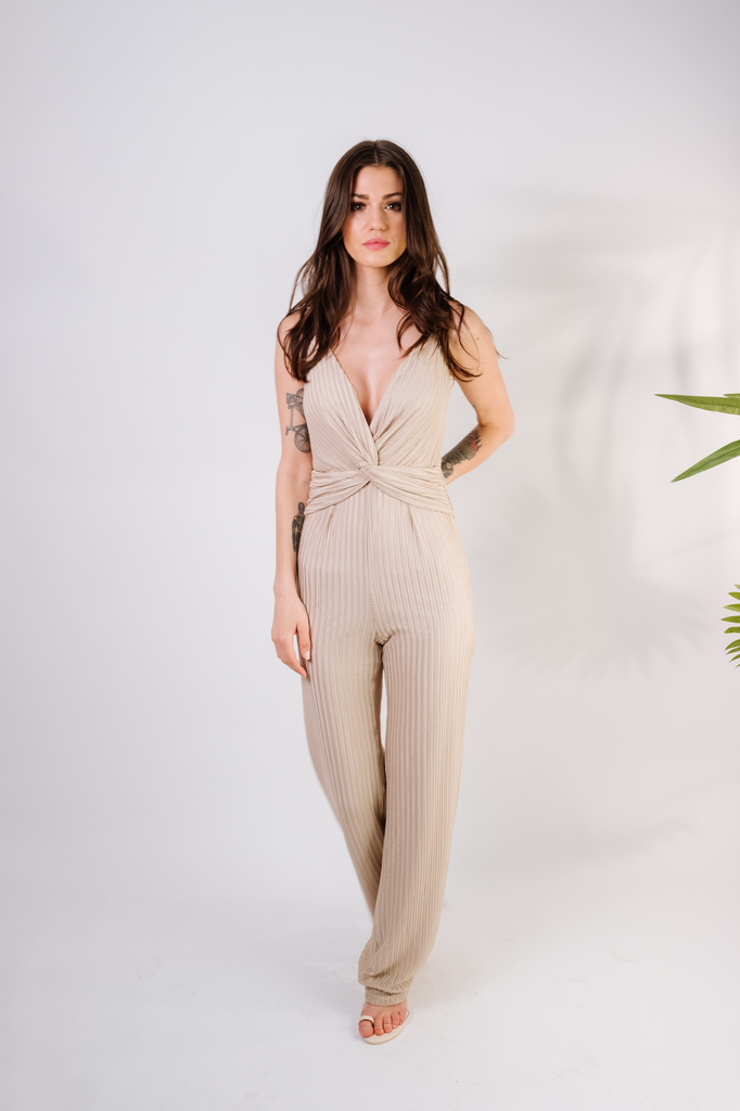 Jumpsuit Twist Front Jumpsuit