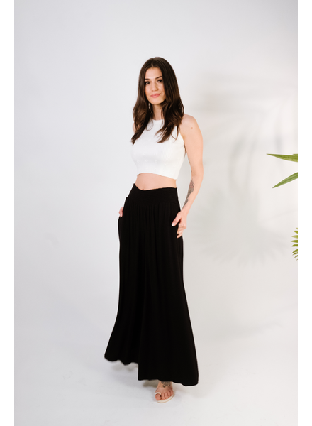 Pants Black Wide Leg Pant