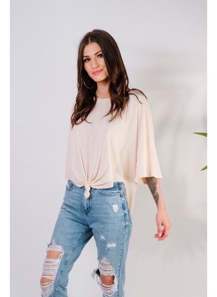 T-shirt Blush Hi-Low Tee