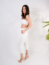 Pants White Kylie Pants