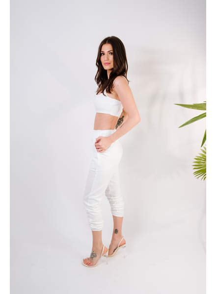 Pants White Kylie Pants
