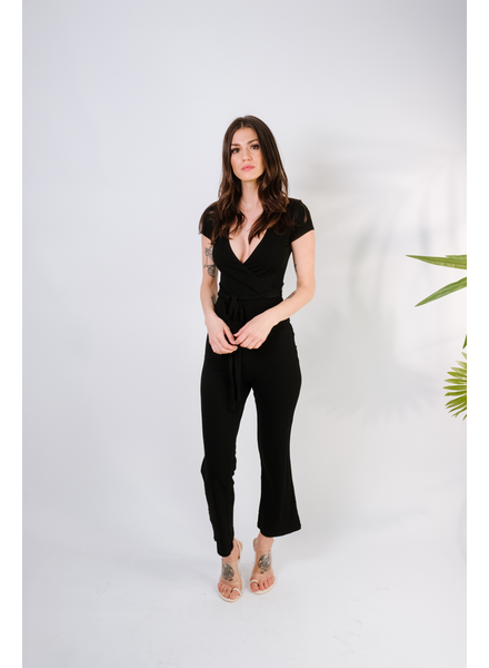 Jumpsuit Black Ribbed Jumpsuit