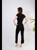 Jumpsuit Black Ribbed Jumpsuit