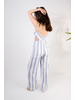 Jumpsuit Blue Striped Jumpsuit
