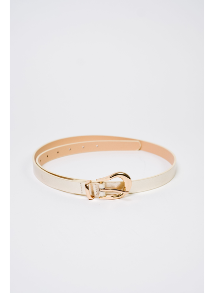 Belt Gold Vegan Leather Belt