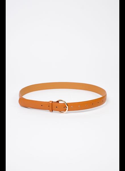 Belt Brown Vegan Leather Belt