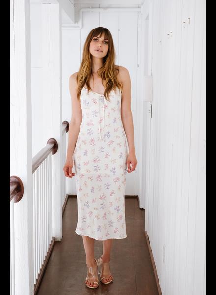 Midi Sweet Floral Midi Dress