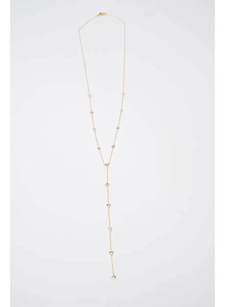 Accessories Bejeweled Y Necklace