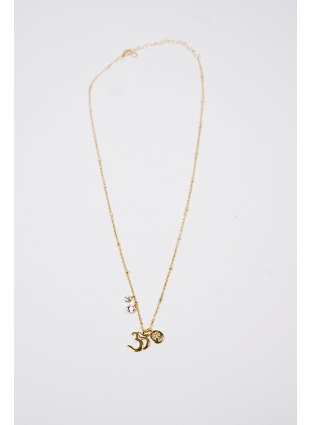 Accessories OM Symbol Charm Necklace