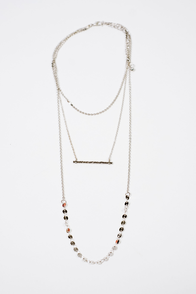 Accessories Multi Chain Layered Necklace