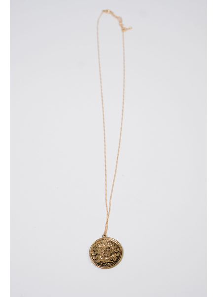Accessories Coin Statement Necklace
