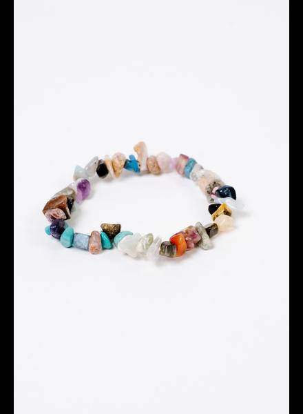Accessories Multi Colored Rock Bracelet