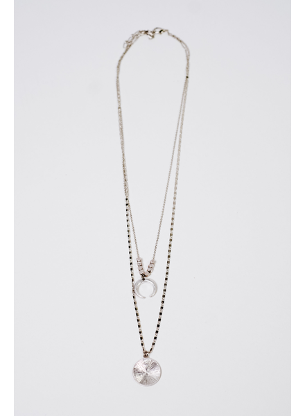 Accessories Half Moon Necklace