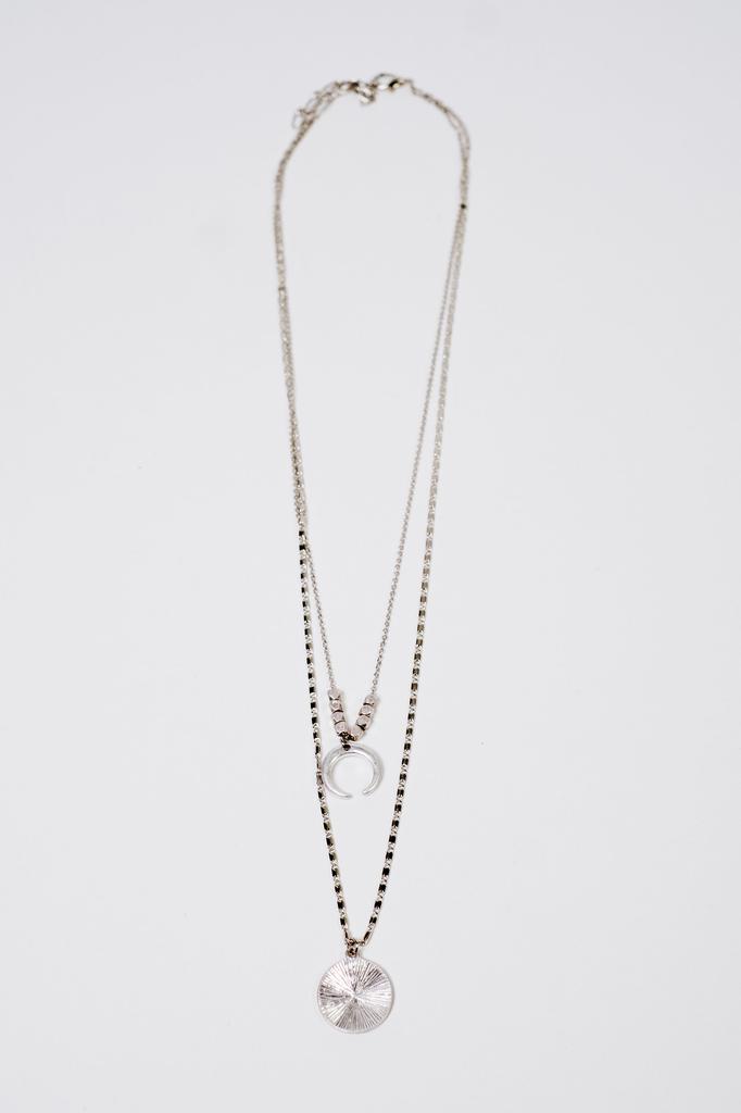 Accessories Half Moon Necklace