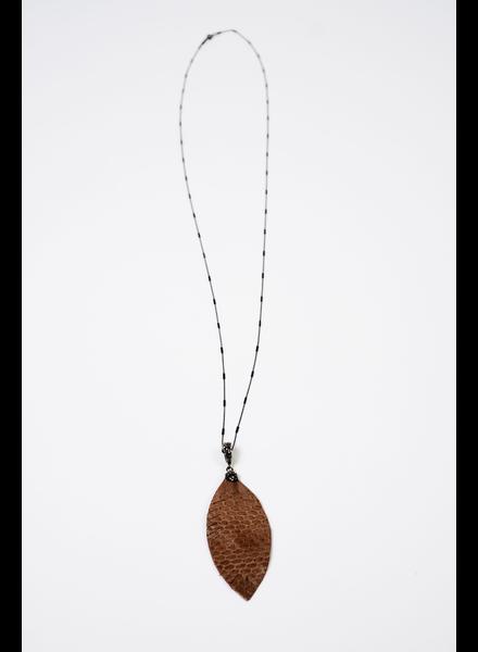 Accessories Leaf Statement Necklace