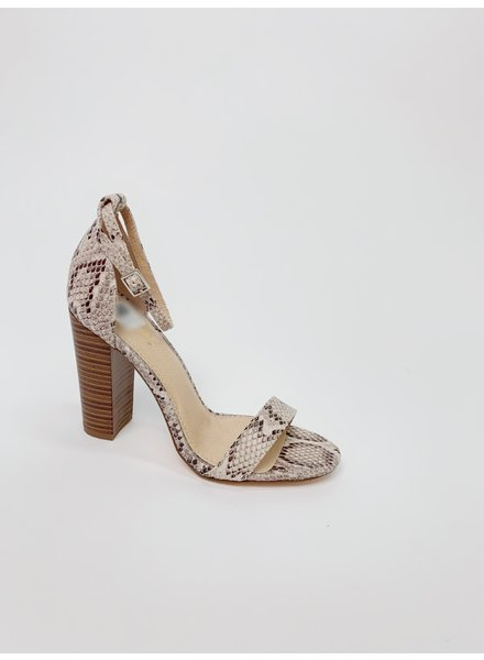 Pump Snake Ankle Strap Shoe