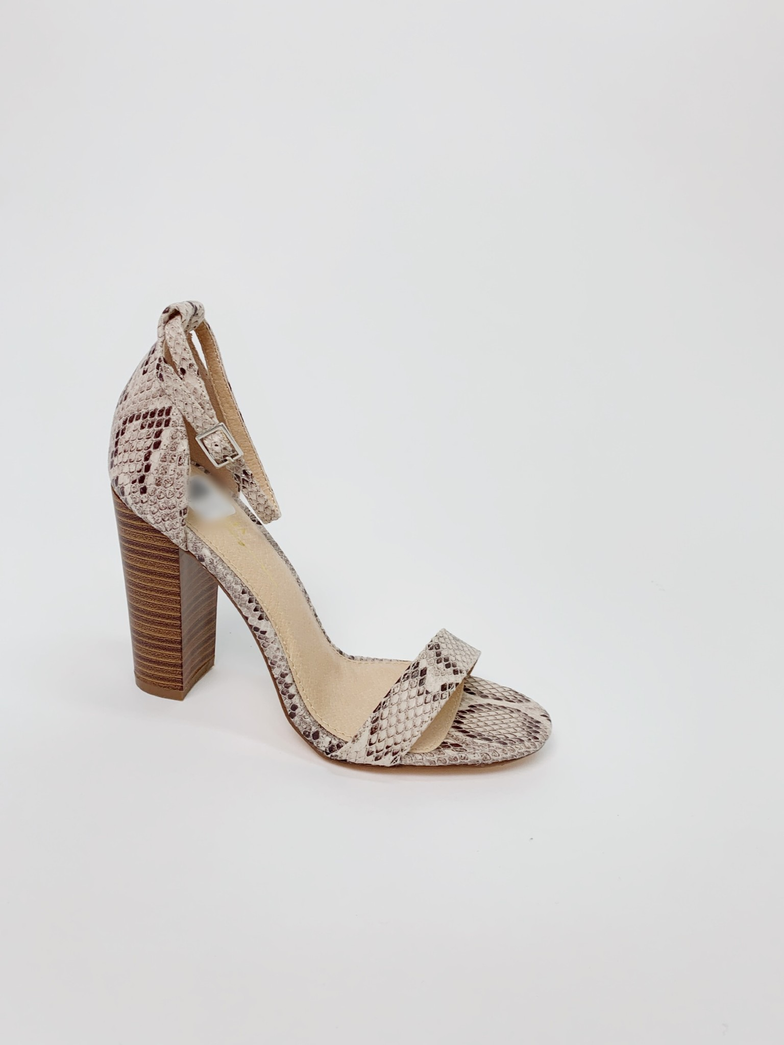 Pump Snake Ankle Strap Shoe