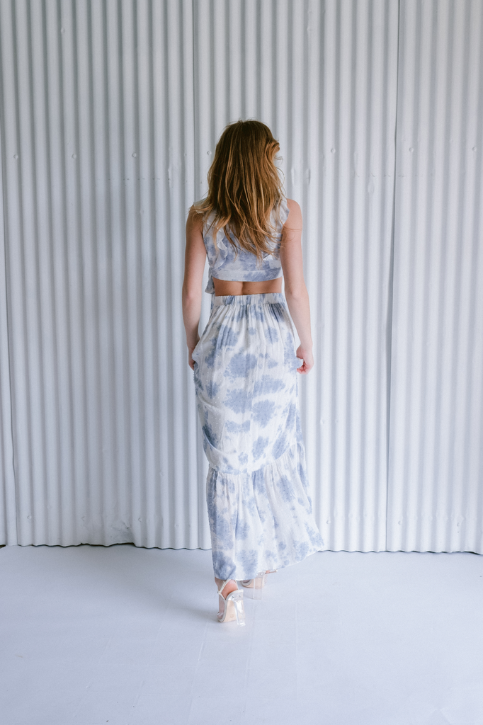 Crop Sky Flutter Wrap Crop