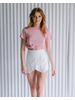 T-shirt Rose Banded Tee