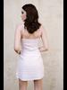Mini Pink Striped Dress
