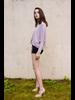 Knit Lavender Dolman T