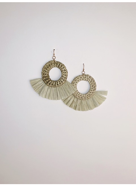 Accessories Open O Fan Earrings