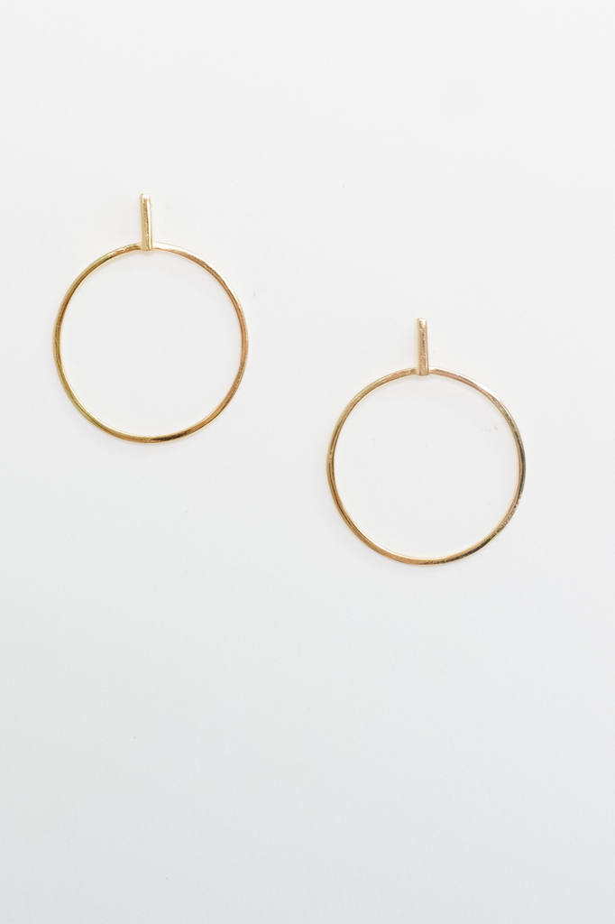 Accessories Mini Gold Plated Hoops