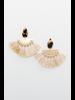 Accessories Tortoise Fan Earrings