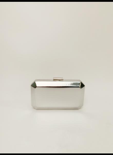 Clutch Silver Rectangle Clutch