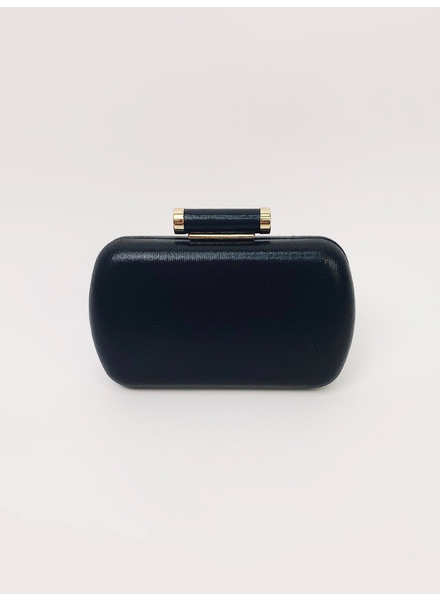 Clutch Black Hardshell Clutch