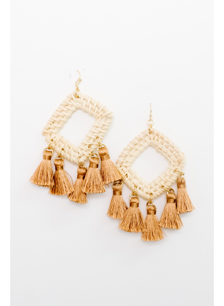 Accessories Multi Tassel Earrings