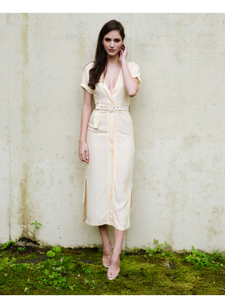 Midi Canary Striped Midi