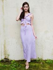 Skirt Lilac Midi Skirt