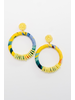 Accessories Tropical Yellow Hoops