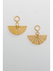 Accessories Mini Fan Earrings