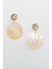 Accessories Iridescent Disc Earrings
