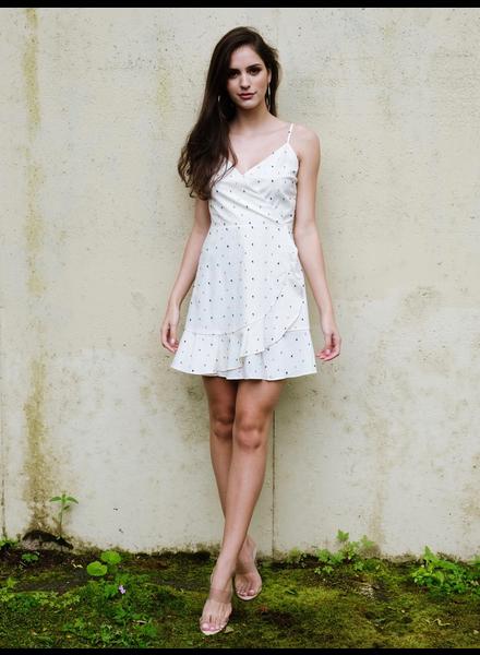 Mini Flirty Wrap Dress
